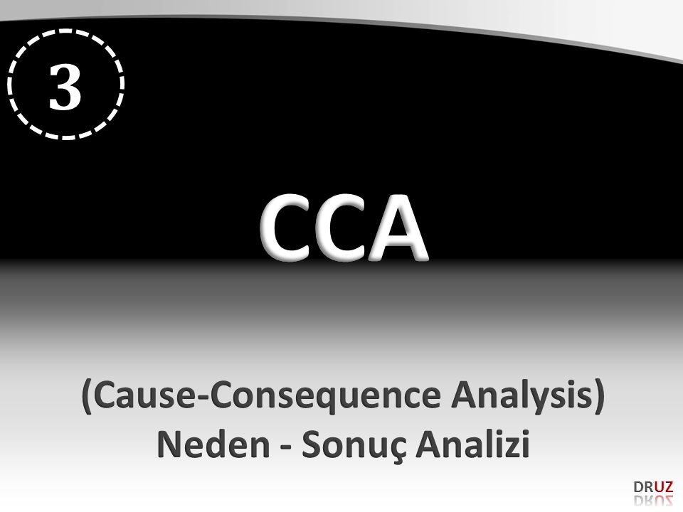 (Cause-Consequence Analysis)