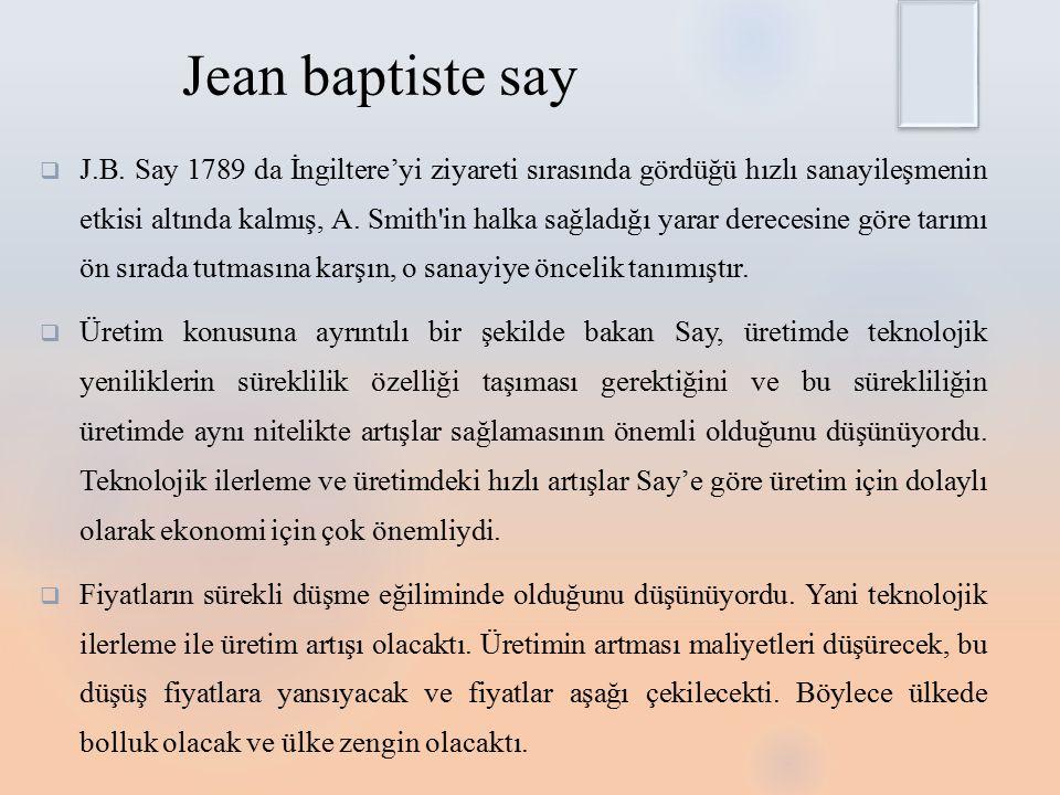 Jean baptiste say