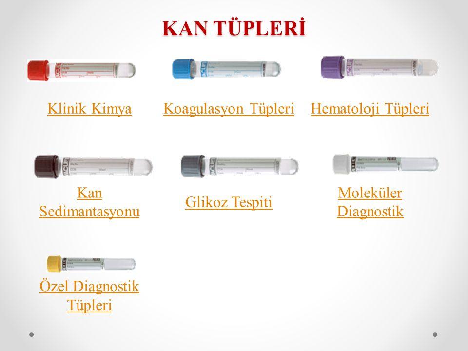 Özel Diagnostik Tüpleri