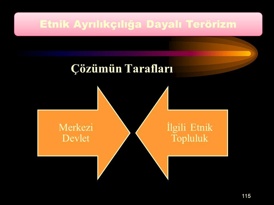 Etnik Ayrılıkçılığa Dayalı Terörizm