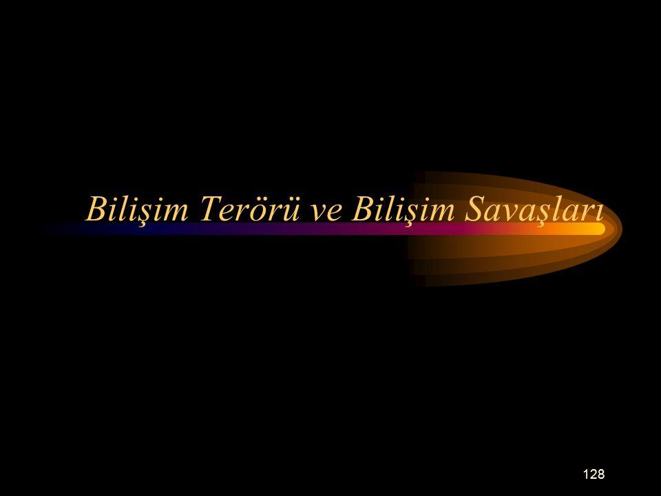 Bilişim Terörü ve Bilişim Savaşları