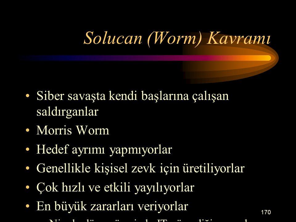Solucan (Worm) Kavramı