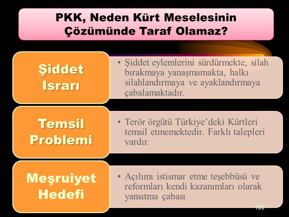 PKK, Neden Kürt Meselesinin Çözümünde Taraf Olamaz