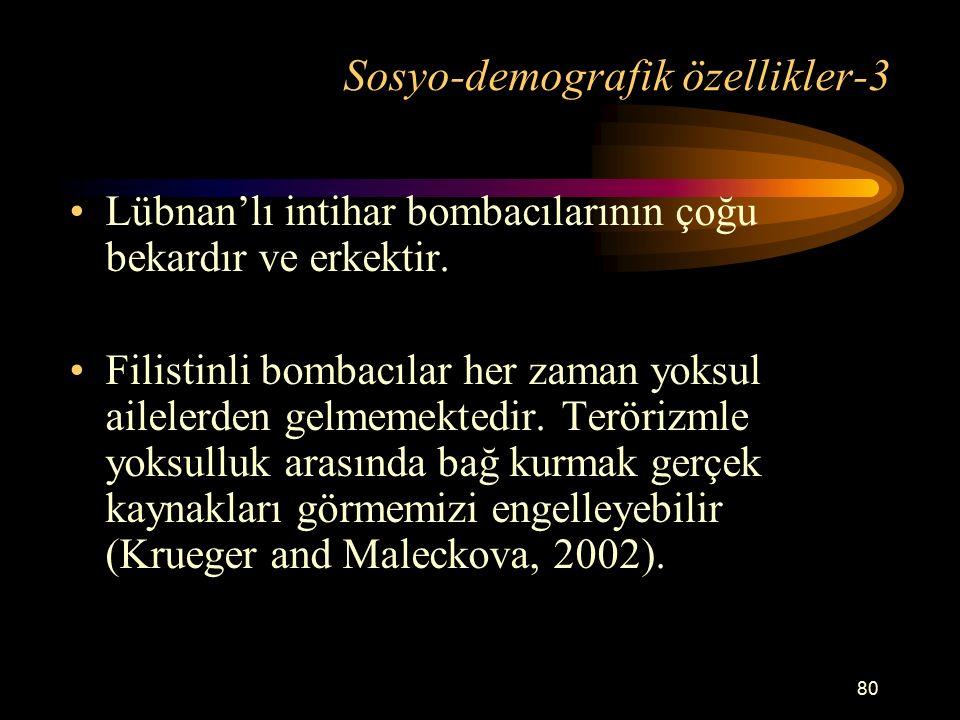 Sosyo-demografik özellikler-3