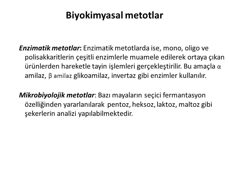 Biyokimyasal metotlar