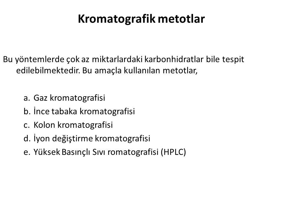Kromatografik metotlar