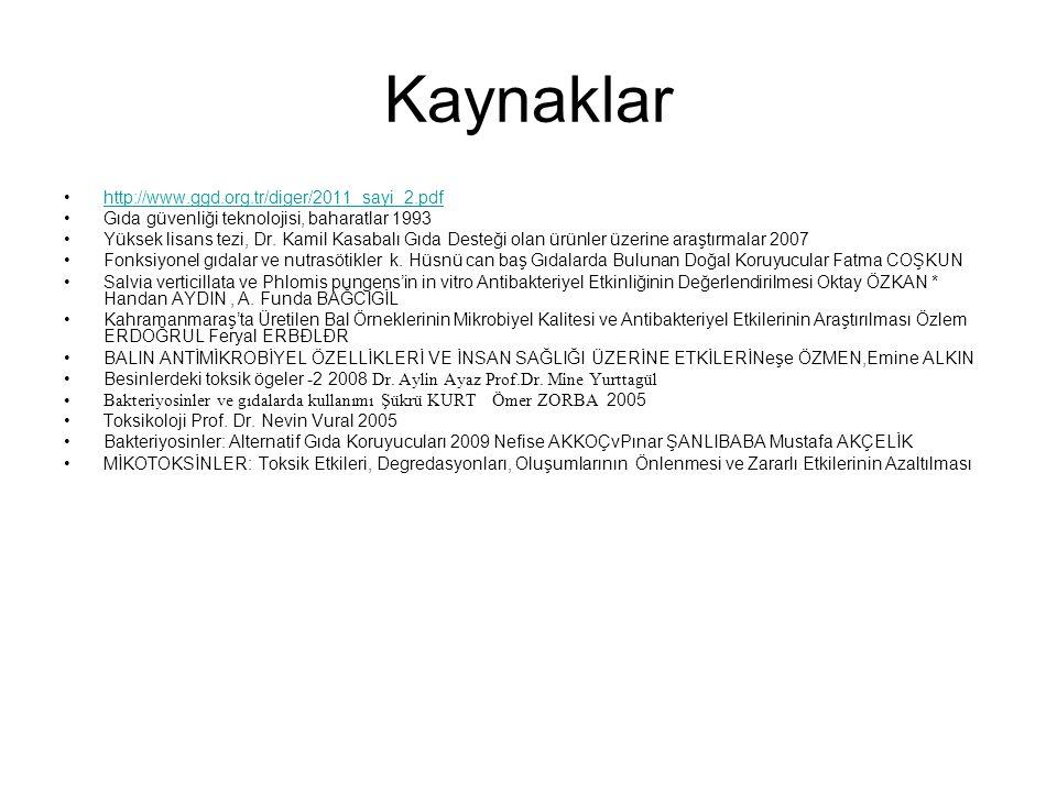 Kaynaklar http://www.ggd.org.tr/diger/2011_sayi_2.pdf