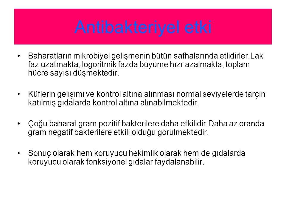 Antibakteriyel etki