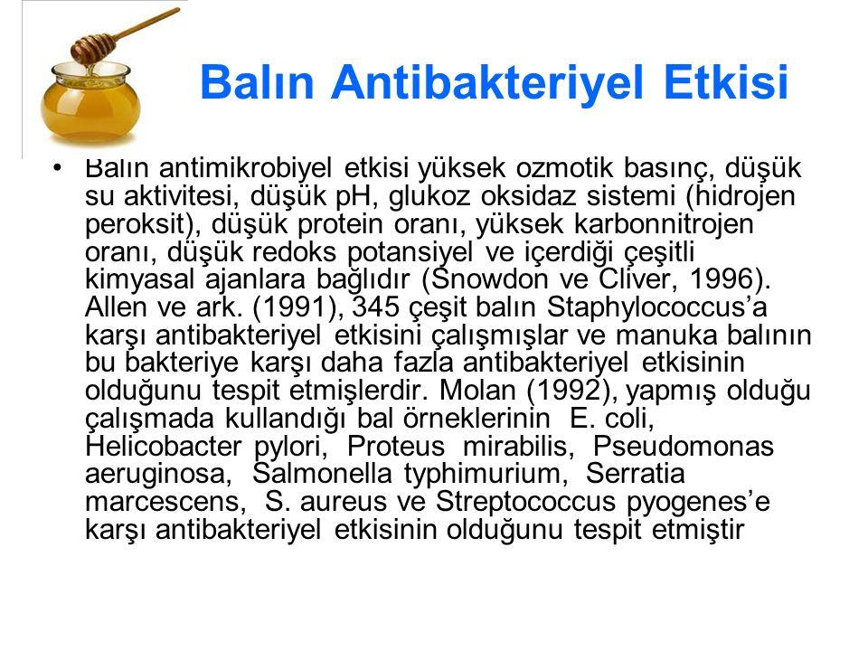 Balın Antibakteriyel Etkisi