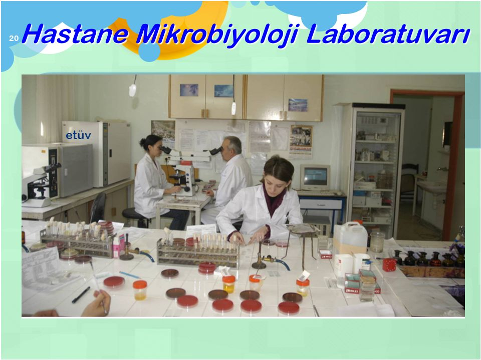 Hastane Mikrobiyoloji Laboratuvarı