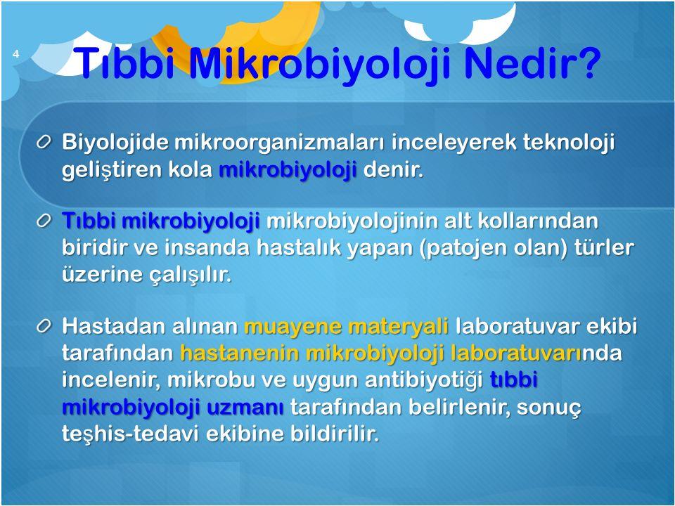 Tıbbi Mikrobiyoloji Nedir