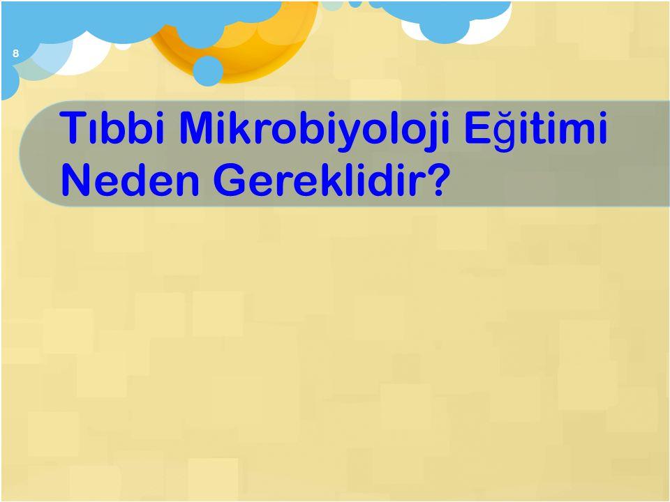 Tıbbi Mikrobiyoloji Eğitimi Neden Gereklidir