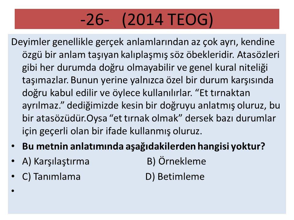 -26- (2014 TEOG)