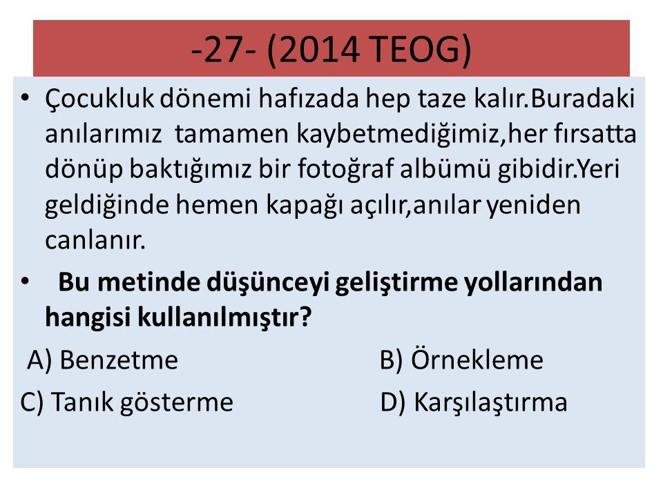 -27- (2014 TEOG)