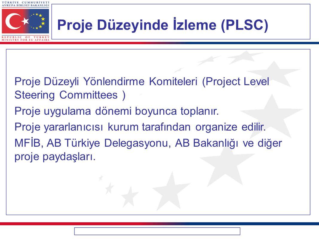 Proje Düzeyinde İzleme (PLSC)