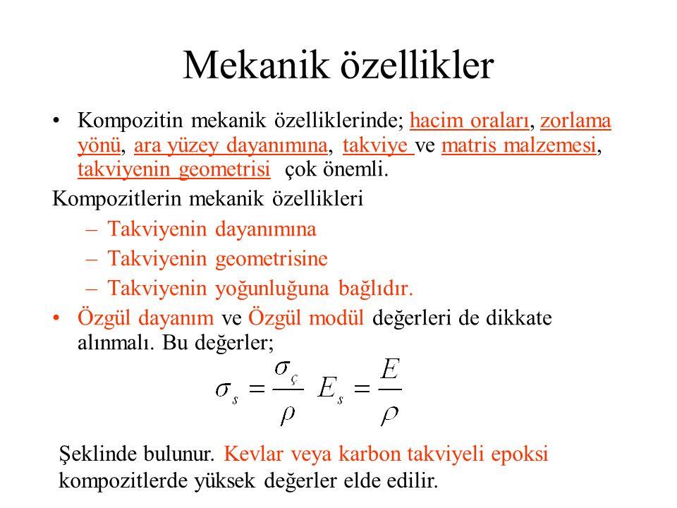 Mekanik özellikler