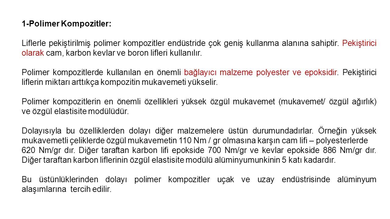 1-Polimer Kompozitler: