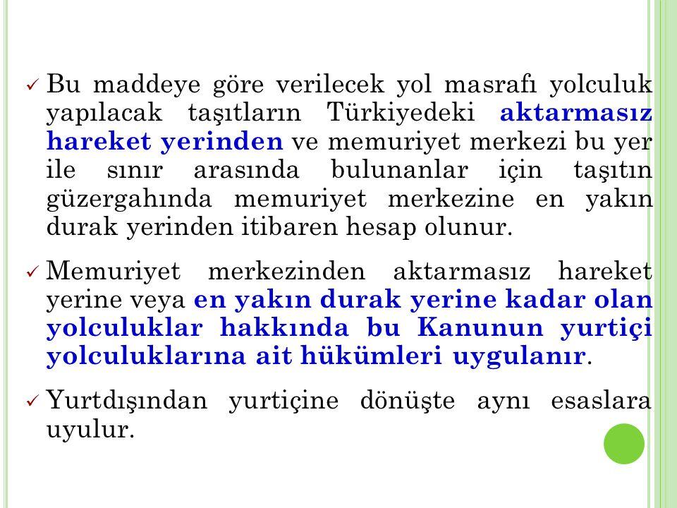 YURTDIŞINDA YOL MASRAFI (29)