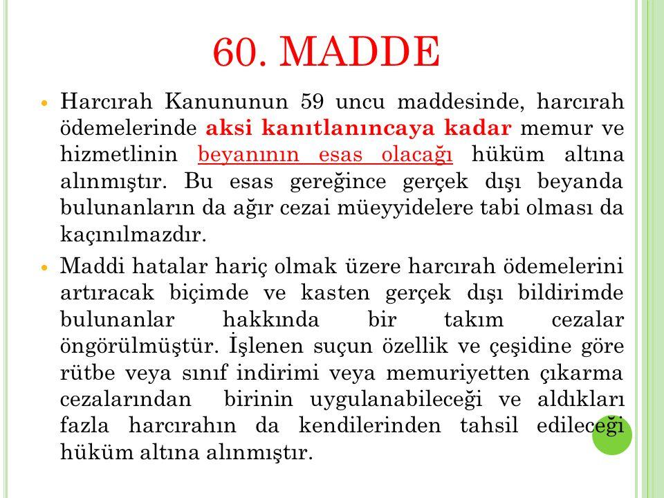 60. MADDE