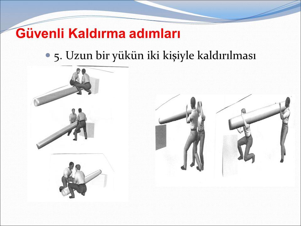 Güvenli Kaldırma adımları