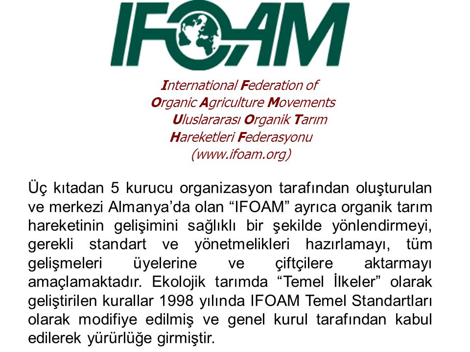 International Federation of