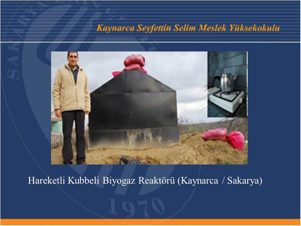 Hareketli Kubbeli Biyogaz Reaktörü (Kaynarca / Sakarya)