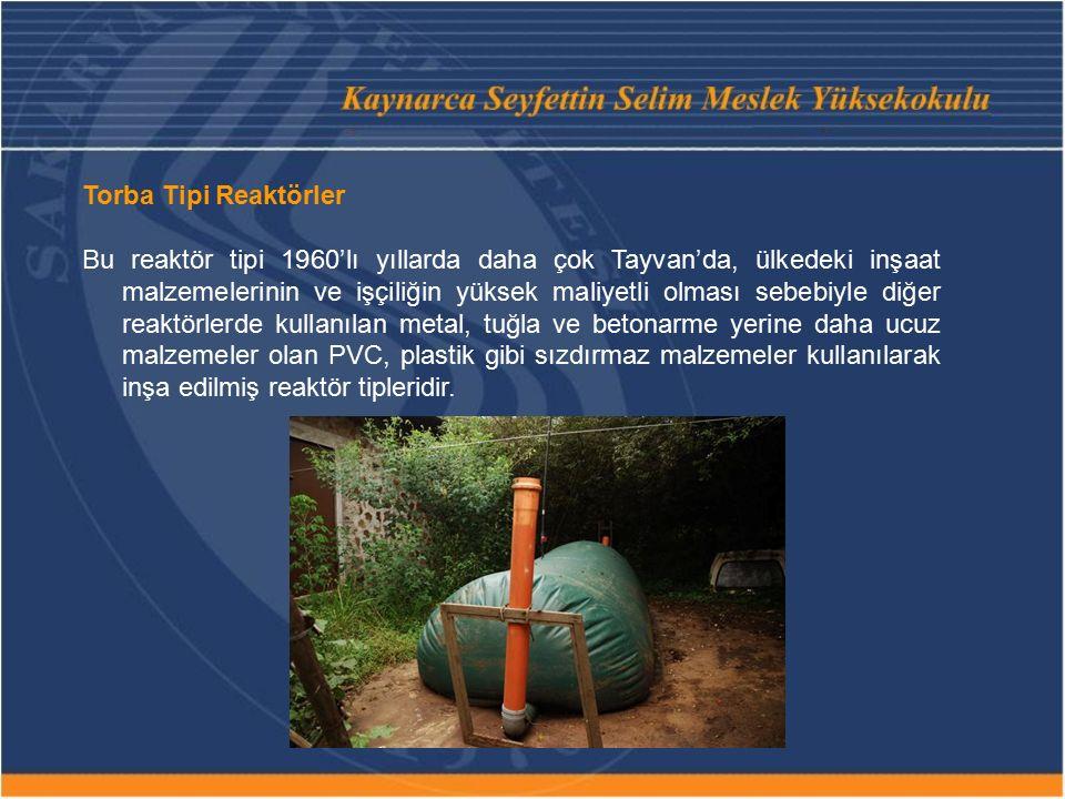Torba Tipi Reaktörler