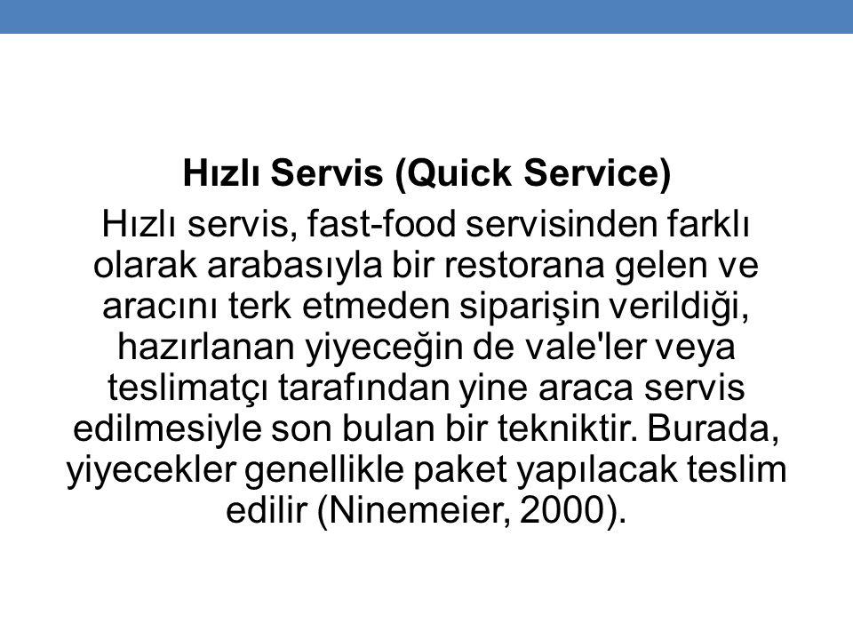 Hızlı Servis (Quick Service)