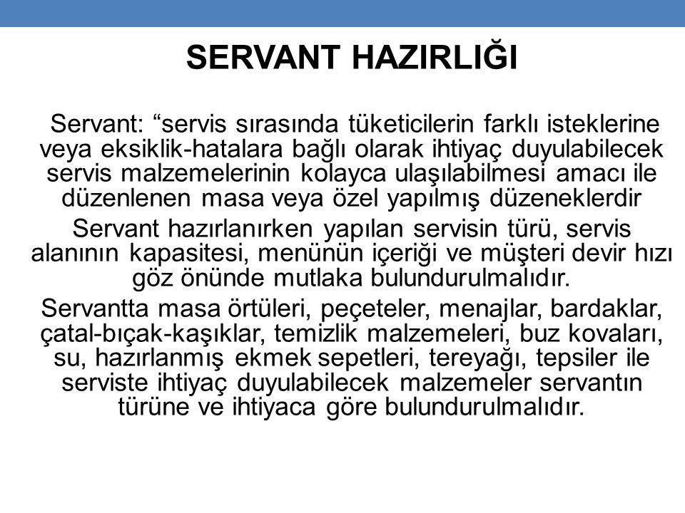 SERVANT HAZIRLIĞI