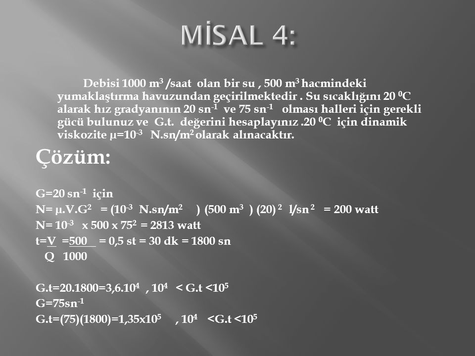 MİSAL 4: