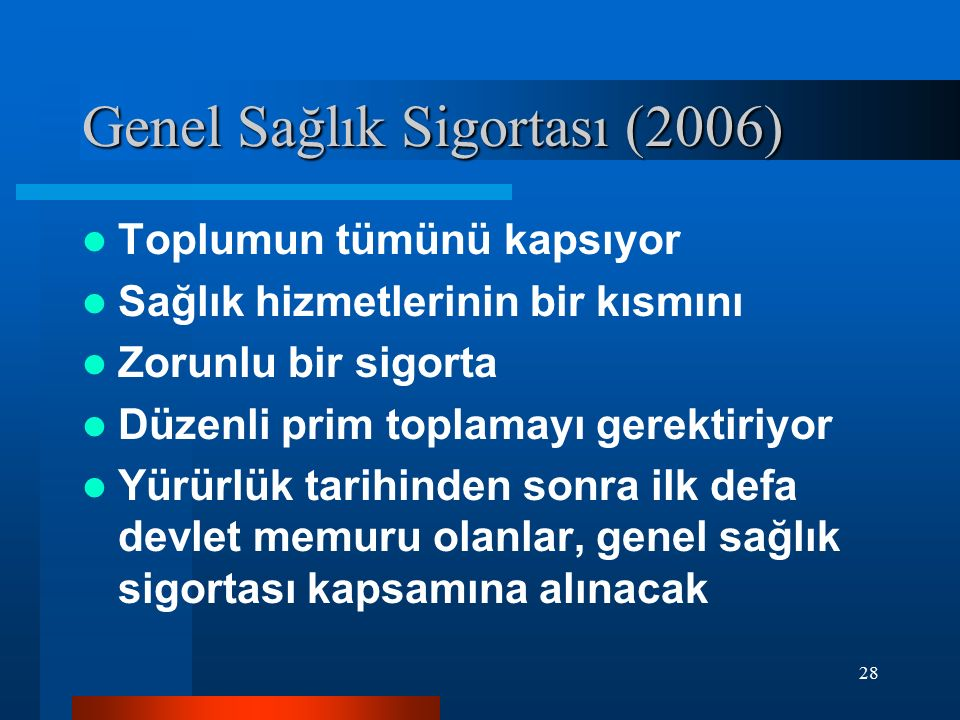 Genel Sağlık Sigortası (2006)