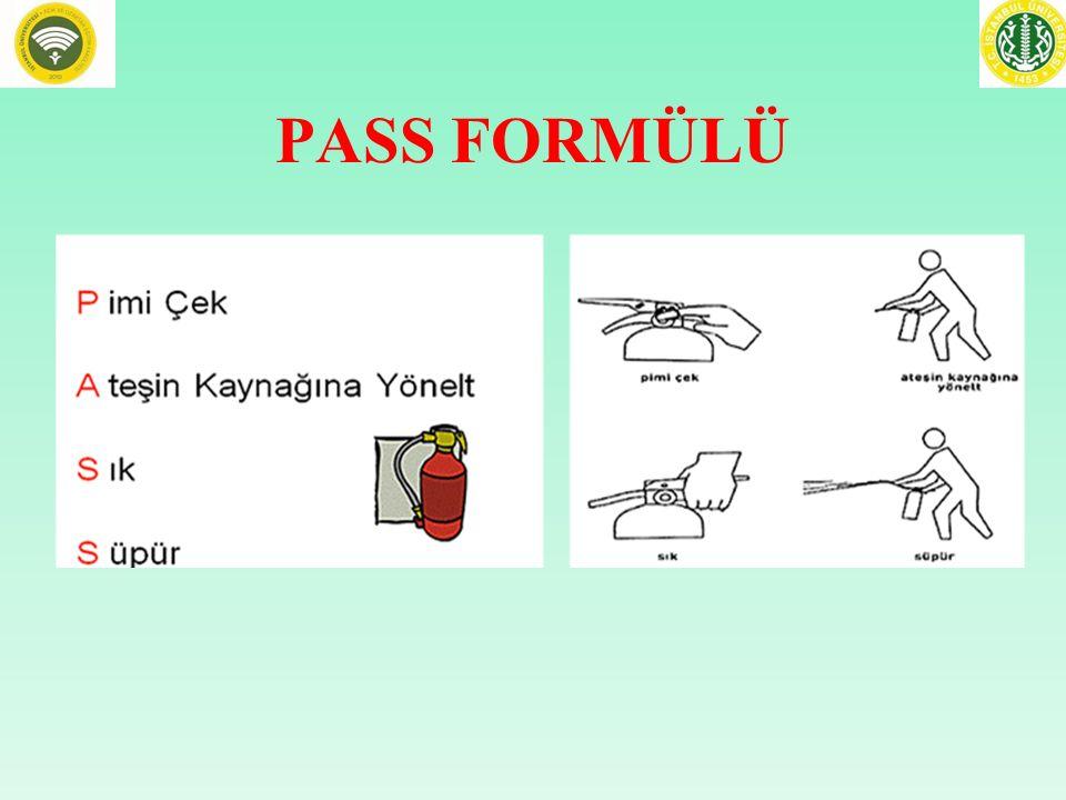 PASS FORMÜLÜ