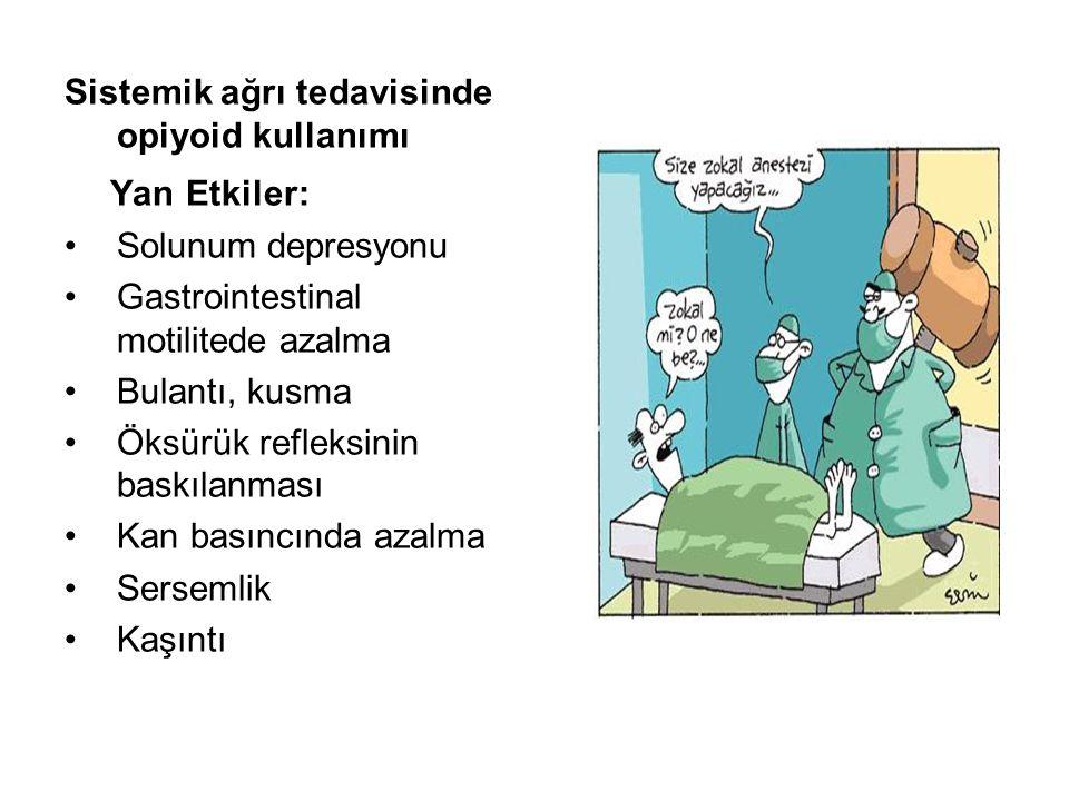 Yan Etkiler: Sistemik ağrı tedavisinde opiyoid kullanımı