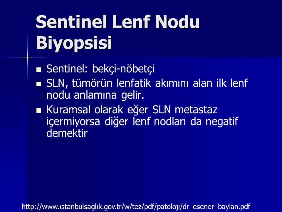 Sentinel Lenf Nodu Biyopsisi