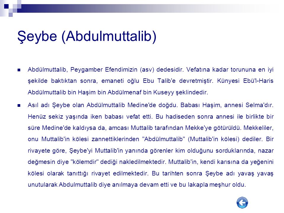 Şeybe (Abdulmuttalib)
