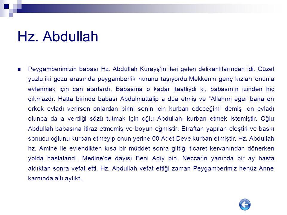 Hz. Abdullah