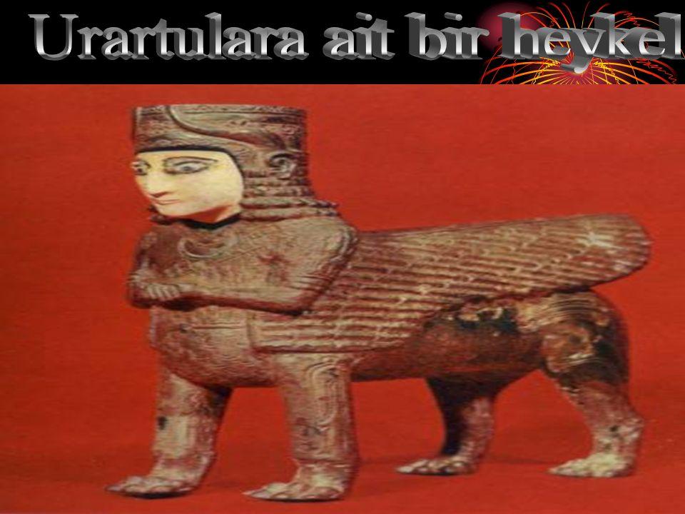 Urartulara ait bir heykel