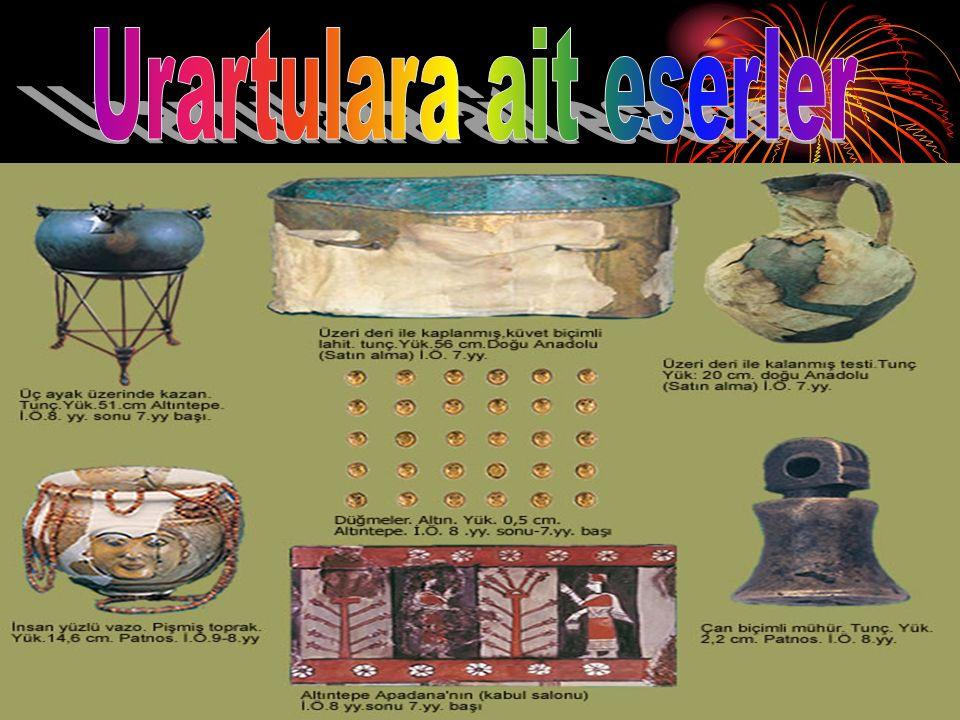 Urartulara ait eserler