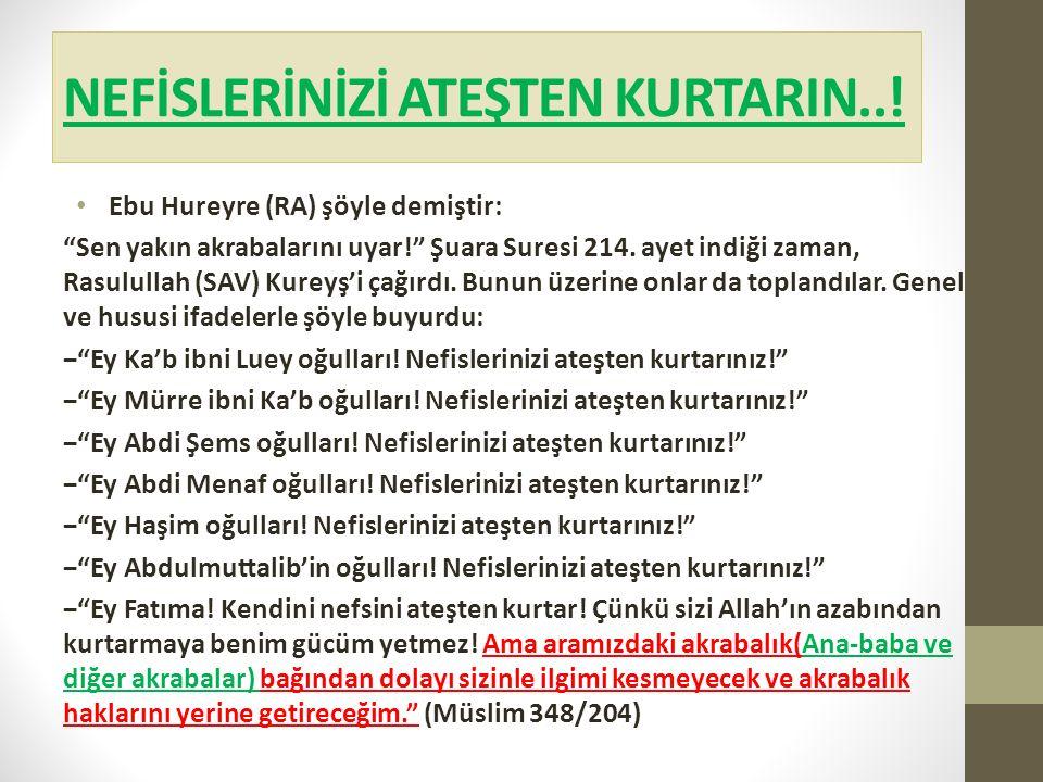 NEFİSLERİNİZİ ATEŞTEN KURTARIN..!
