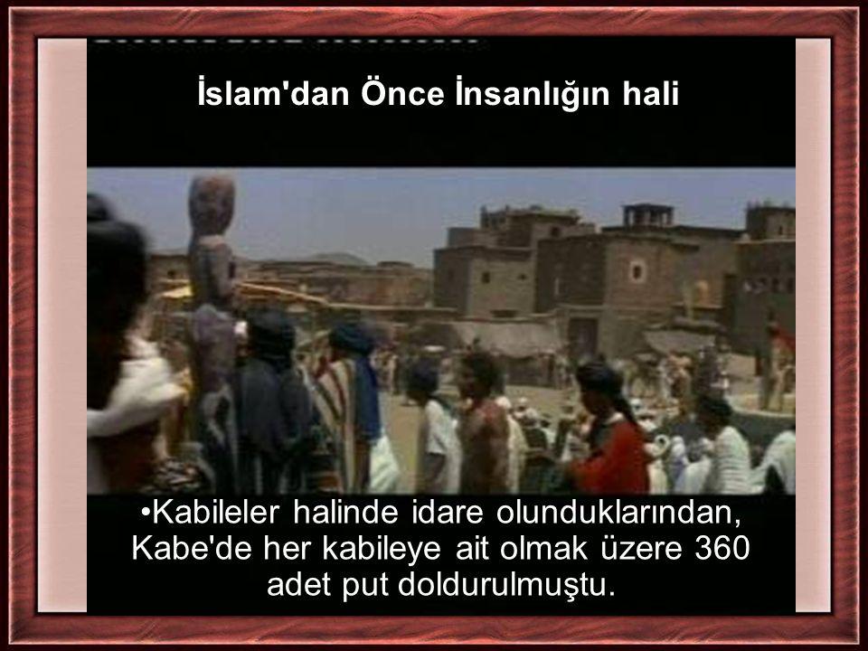 İslam dan Önce İnsanlığın hali