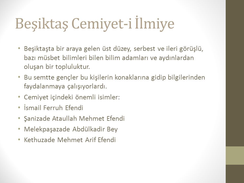 Beşiktaş Cemiyet-i İlmiye