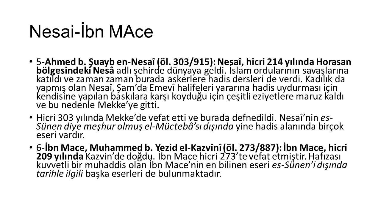 Nesai-İbn MAce