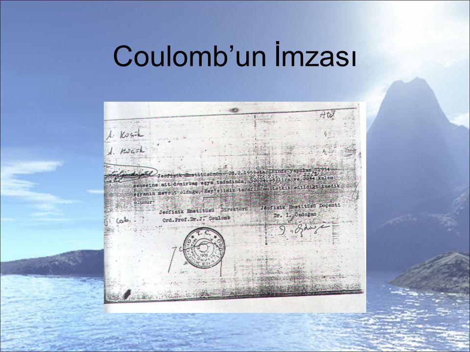 Coulomb'un İmzası