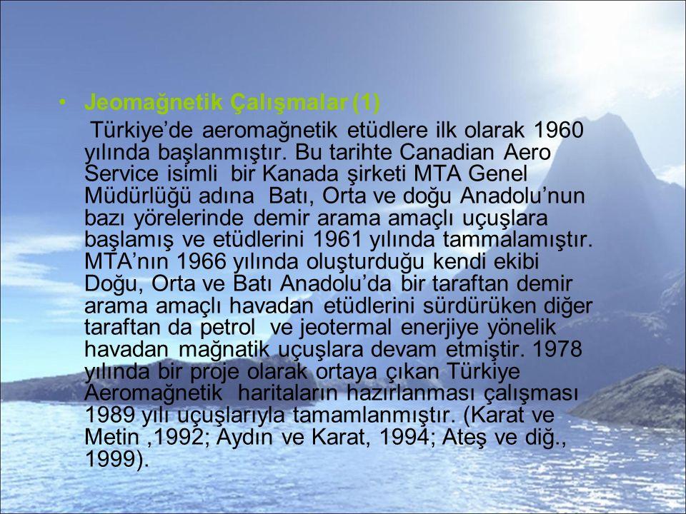 Jeomağnetik Çalışmalar (1)