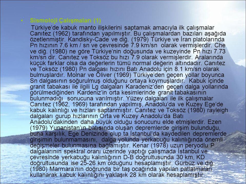 Sismoloji Çalışmaları (1)