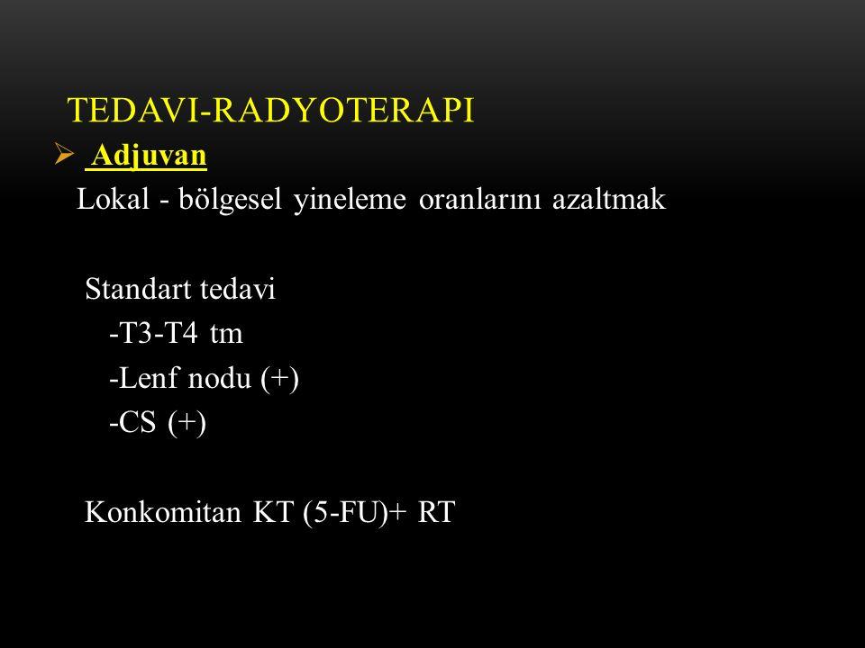 Tedavi-Radyoterapi Adjuvan