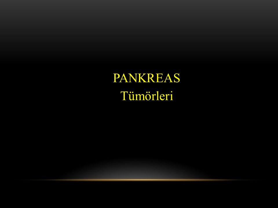 PANKREAS Tümörleri