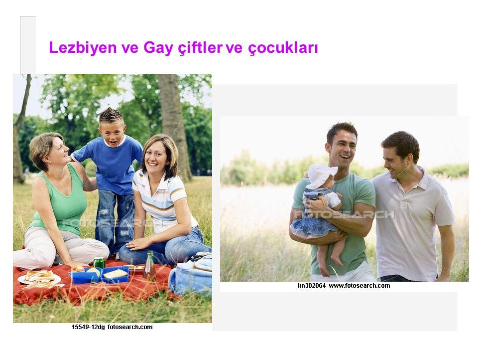 Lezbiyen ve Gay çiftler ve çocukları