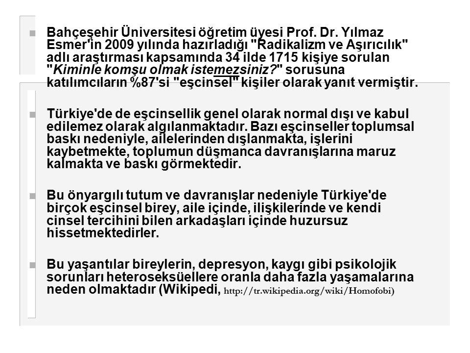 Bahçeşehir Üniversitesi öğretim üyesi Prof. Dr