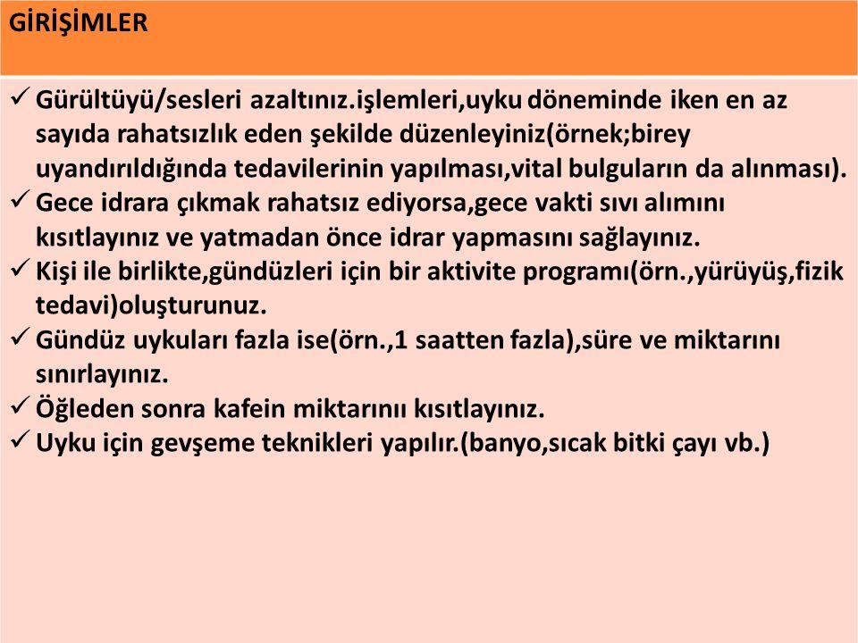 GİRİŞİMLER